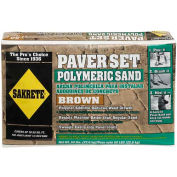 Sakrete® Paver Set Brown Polymeric Sand, 50 Lb. Bag - 65300037 - Pkg Qty 56