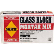 Sakrete® Glass Block Mortar White - 50 Lb. Bag - Pkg Qty 30