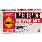 Sakrete® Glass Block Mortar White, 50 Lb. Bag - 65304215 - Pkg Qty 30