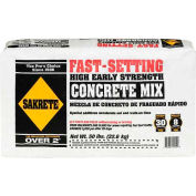 Sakrete® Fast Setting Concrete Mix - 50 Lb. Bag - Pkg Qty 56