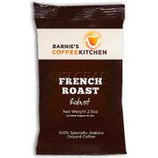 Barnie's CoffeeKitchen®, French Roast Ground Coffee, 2.5 oz. Frac Packs, 24/Case