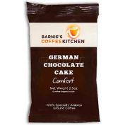 Barnie's CoffeeKitchen®, German Chocolate Cake Ground Coffee, 2.5 oz. Frac Packs, 24/Case