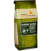 Barnie's CoffeeKitchen®, Global Blend Fair Trade Organic Whole Bean Coffee, 12 oz. Bag, 6/Case