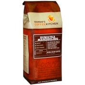 Barnie's CoffeeKitchen®, Sumatra Mandheling Whole Bean Coffee, 12 oz. Bag, 6/Case