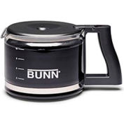 Bunn 06100.0103 - Easy Pour® Coffee Stainless Steel Bottom Decanters, 64 oz, Regular, 3 Pack