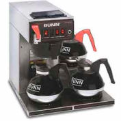 12 Cup Dual-Voltage Auto Coffee Brewer With 3 Warmers, CWTF-DV