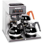 Pourover Coffee Brewer With 3 Warmers, VP17-3, Stainless Steel