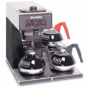 Pourover Coffee Brewer With 3 Warmers, 3L, VP17-3, Black