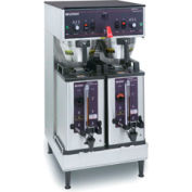 Dual Soft Heat® Brewer With Docking System, 120/208V Black1.5G/5.7L