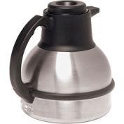 1.9 Litre Thermal Carafes, Black Lid for Regular Coffee, 12Pk