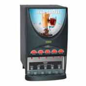 iMix-5 Beverage Dispenser w/ 5 Hoppers, Iced Coffee Display by Beverage Dispensers