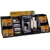 Merchandiser System Brew Station & Rack Assembly, STD Header-Pod