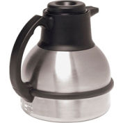 Bunn 40163.0000 - Thermal Carafe, 64 Oz., 1.9 Litre, Stainless Steel, Short, Vacuum Insulation