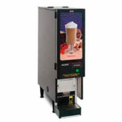 Fresh Mix Dispenser, 1 Hopper, Black, Hot Chocolate Display, SET00.0203
