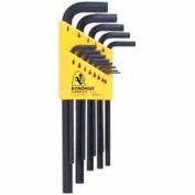"""Bondhus 12137 Set 13 Hex L-wrenches .050""""-3/8"""" - Long"""
