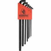 Bondhus 16592 Set 7 Stubby Balldriver L-wrenches 1.5-6mm