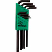 Bondhus 31834 Set 8 Star L-wrenches - Long Arm Style - T9-T40