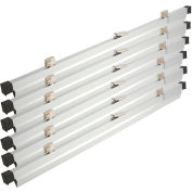 """36"""" Hanging Clamps For Blueprint Storage Rack - Set of 6"""
