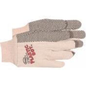 Plastic Dotted Cotton Gloves, Boss 1bp5501, 1-Pair - Pkg Qty 12