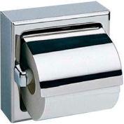 Bobrick® Surface Mounted Single Tissue Dispenser w/ Hood - B-6699