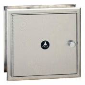 Bobrick® Recessed Specimen Pass-Thru Cabinet, Stainless Steel