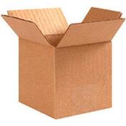 "Flat Cardboard Corrugated Box 15"" x 15"" x 5"" - 25 Pack"