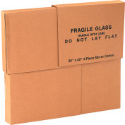 "Mirrors Boxes 30"" x 3-1/2"" x 40"" 200#/ECT-32 - Four 30"" x 40"" Pieces per Set - Pkg Qty 4"
