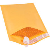"""Self-Seal Bubble Mailers #1, 7-1/4"""" x 12"""" Golden Kraft, 100 Pack"""