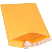 "Self-Seal Bubble Mailers #4, 9-1/2"" x 14-1/2"" Golden Kraft, 100 Pack"