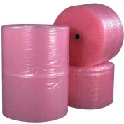 "Perforated Anti-Static Air Bubble Rolls 12"" x 750' x 3/16"" 4 Pack"