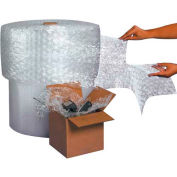 """Air Bubble Rolls 24"""" x 750' x 3/16"""", Perforated, Clear, 2/PACK"""