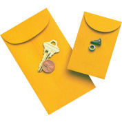 "Gummed Envelopes 3 1/8"" x 5-1/2"" Kraft"