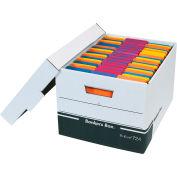 """R-Kive File Storage Box FSB150 - 15""""L x 12""""W x 10""""H - Black - Price Each - Pkg Qty 12"""