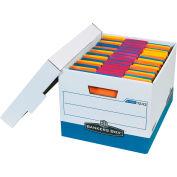 """R-Kive File Storage Box FSB170 - 15""""L x 12""""W x 10""""H - Blue - Price Each - Pkg Qty 12"""