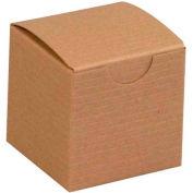 "Kraft Gift Boxes 2"" x 2"" x 2"" - 200 Pack"
