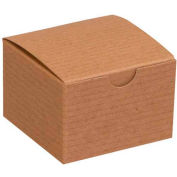 "Kraft Gift Boxes 3"" x 3"" x 2"" - 100 Pack"