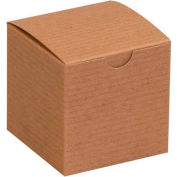 "Kraft Gift Boxes 3"" x 3"" x 3"" - 100 Pack"