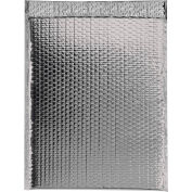 """Glamour Bubble Mailers 13"""" x 17-1/2"""" Silver, 100 Pack"""