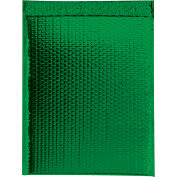 """Glamour Bubble Mailers 18"""" x 22"""" Green, 48 Pack"""