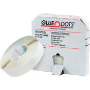 """Low Tack Glue Dots®, 1/2"""", Low Profile, 4000/Pack"""