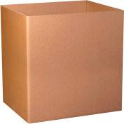 "Triple Wall Gaylord Bottoms 48"" x 40"" x 24"" 1100# TW/ECT-90 Kraft - Pkg Qty 5"