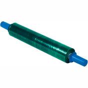 "Green Stretch Wrap 20"" x 1000' x 80 Gauge With Dispenser"