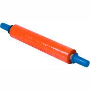 """Orange Stretch Wrap 20"""" x 1000' x 80 Gauge With Dispenser"""