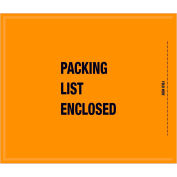 "Full Face Mil/Spec Envelopes - ""Packing List Enclosed"" 8-1/2 x 10"" Orange - 1000/Case"