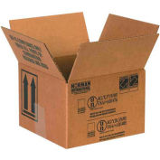 "Haz Mat Boxes For 1 Qt. Paint Can, 5-1/8""L x 5-1/8""W x 6-3/16""H, Kraft, 25/Pack"