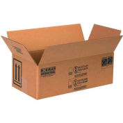 "Two - 1 Quart Haz Mat Boxes, 10-1/4"" x 5-1/8"" x 6-3/16"", 25/Pack"