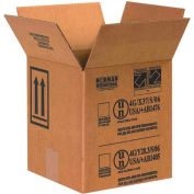 "One - 1 Gallon Haz Mat Boxes, 8-1/2"" x 8-1/2"" x 9-5/16"", 25/Pack"