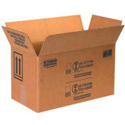 "Two - 1 Gallon Haz Mat Boxes, 17"" x 8-1/2"" x 9-5/16"", 25/Pack"