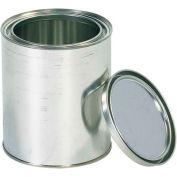 Paint Cans, 1 Qt., Silver, 36/Pack