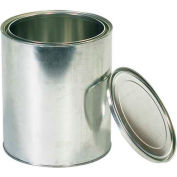 Metal Paint Cans, 1 Gal., Silver, 36/Pack